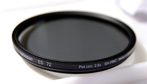 Polarizing filters test - Heliopan ES Pol circ. SH-PMC 72 mm