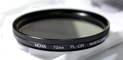 Polarizing filters test - Hoya PL-CIR 72 mm