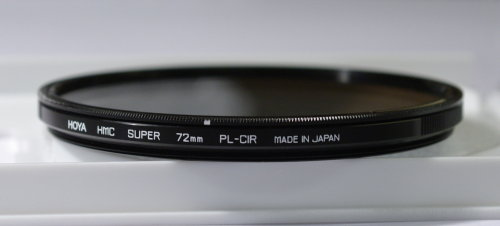 Polarizing filters test - Hoya HMC Super PL-CIR 72 mm