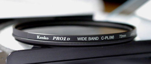Polarizing filters test - Kenko PRO1D Wide Band C-PL(W) 72 mm