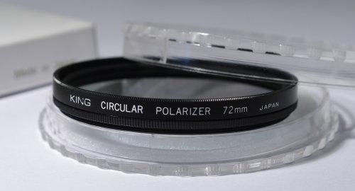 Polarizing filters test - King Circular Polarizer 72 mm