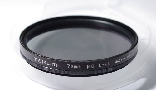Polarizing filters test - Marumi MC C-P.L 72 mm