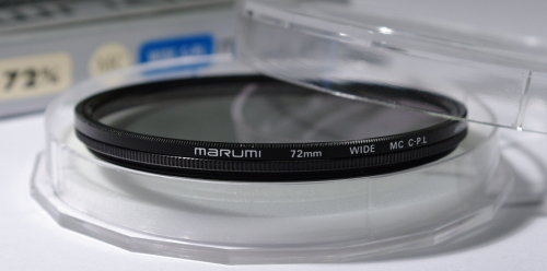 Polarizing filters test - Marumi Wide MC C-P.L 72 mm