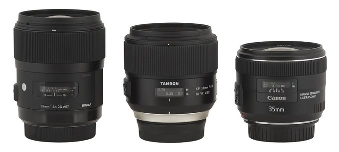 Tamron SP 35 mm f/1.8 Di VC USD - Build quality and image stabilization