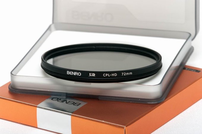 Polarizing filters test 2015 - Benro UD CPL-HD