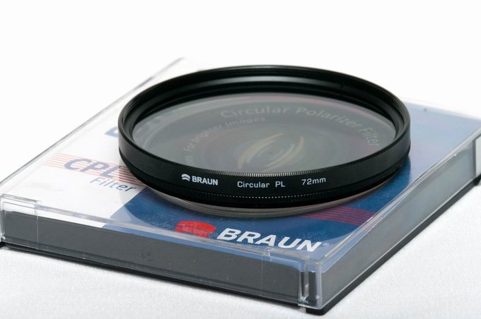 Polarizing filters test 2015 - Braun Blueline Circular PL