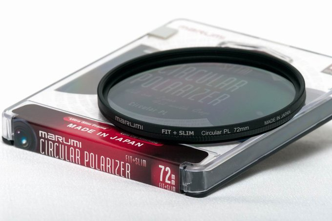 Polarizing filters test 2015 - Marumi FIT+SLIM Circular PL