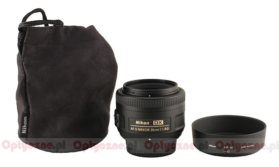 Nikon Nikkor AF-S DX 35 mm f/1.8G - Build quality