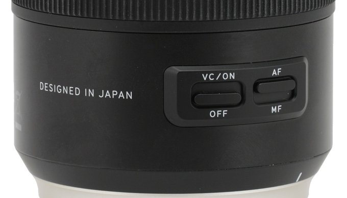 Tamron SP 85 mm f/1.8 Di VC USD - Build quality and image stabilization