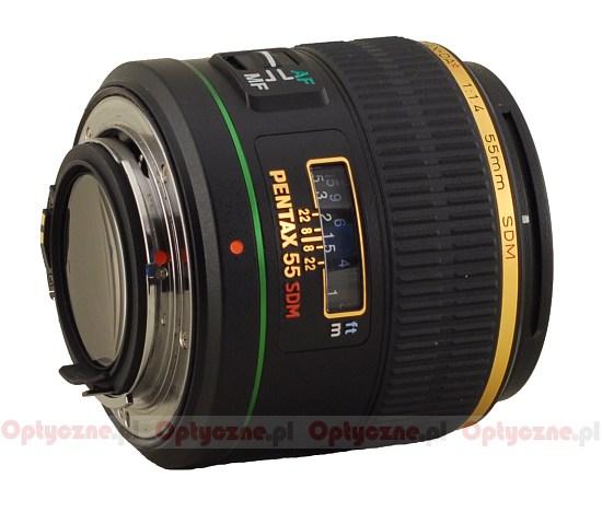 Lens Cap 58mm yellow for Pentax smc DA* 55 mm 1.4 SDM