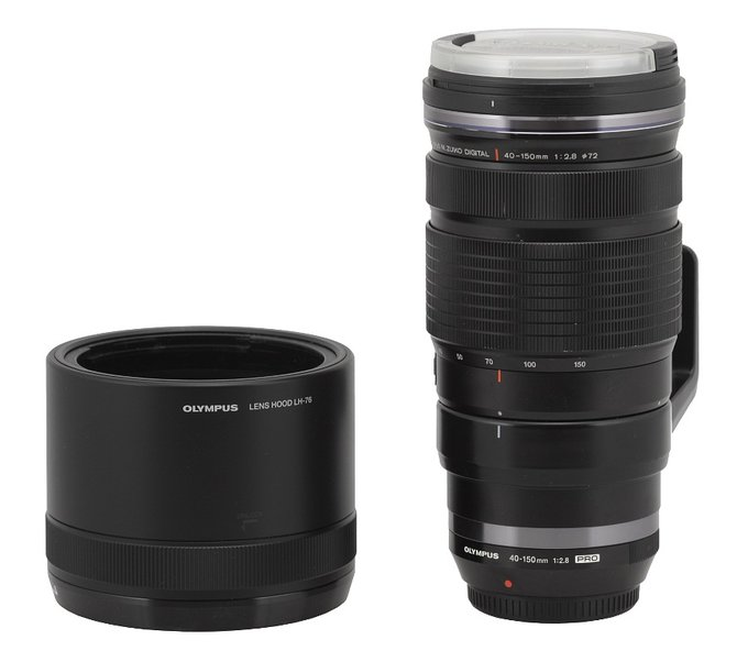 Olympus M.Zuiko Digital 40-150 mm f/2.8 ED PRO - Build quality