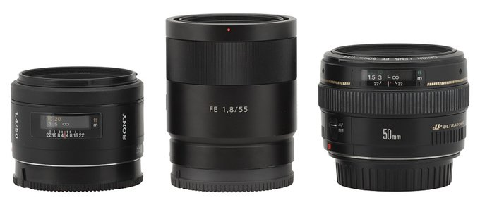 Sony Carl Zeiss Sonnar T* FE 55 mm f/1.8 ZA - Build quality