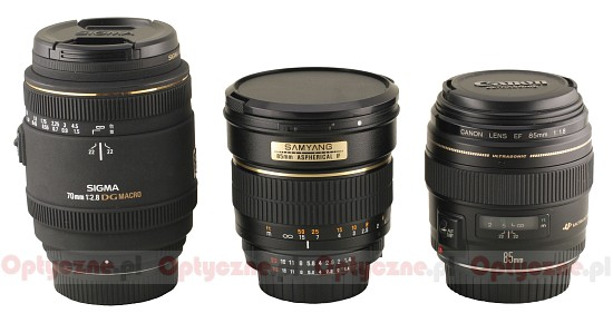 Samyang 85 mm f/1.4 Aspherical IF  - Build quality