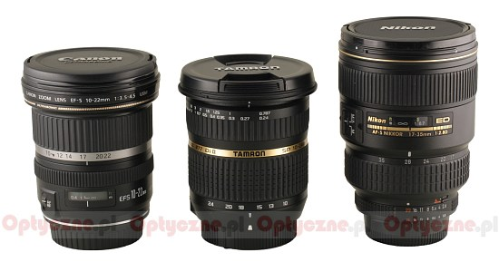 Tamron SP AF 10-24 mm f/3.5-4.5 Di II LD Aspherical (IF) review ...