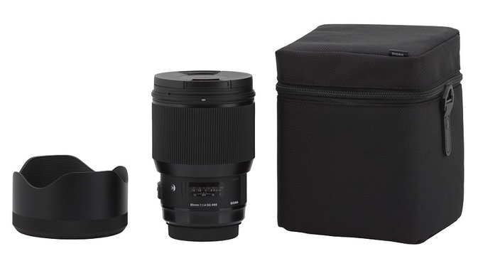 Sigma A 85 mm f/1.4 DG HSM - Build quality