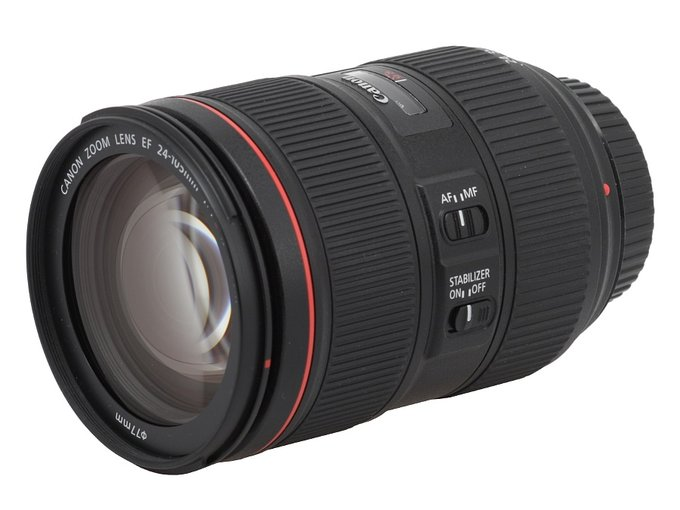 Canon EF 24-105 mm f/4L IS II USM  - Build quality and image stabilization