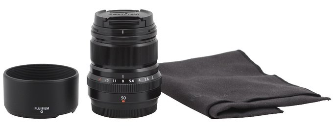 Fujifilm Fujinon XF 50 mm f/2 R WR - Build quality