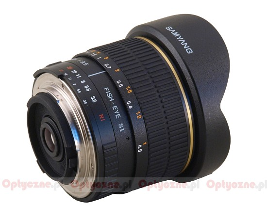 Samyang 8 mm f/3.5 Aspherical IF MC Fish-eye - Build quality