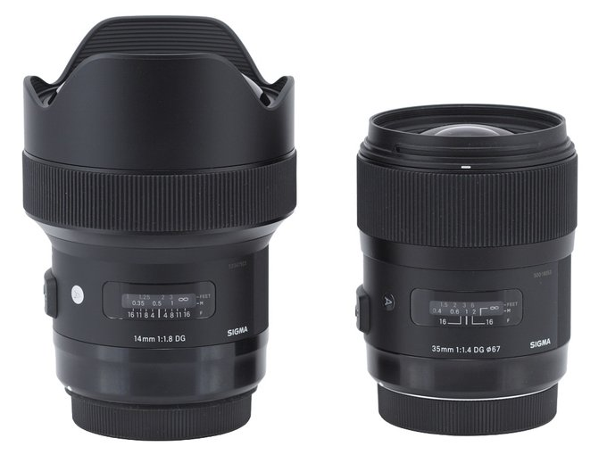Sigma A 14 mm f/1.8 DG HSM - Build quality