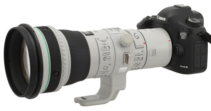Canon EF 400 mm f/4 DO IS II USM - Introduction