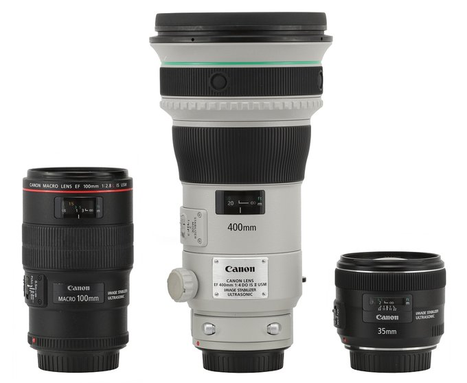 Canon EF 400 mm f/4 DO IS II USM - Build quality and image stabilization