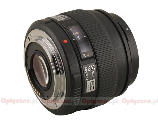 Olympus Zuiko Digital 50 mm f/2.0 Macro ED - Build quality