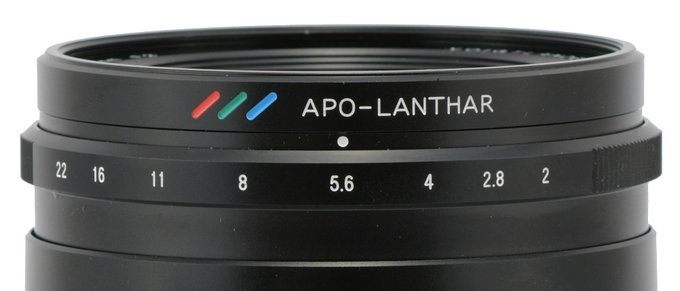 Voigtlander Apo-Lanthar 65 mm f/2 Aspherical 1:2 Macro - Build quality
