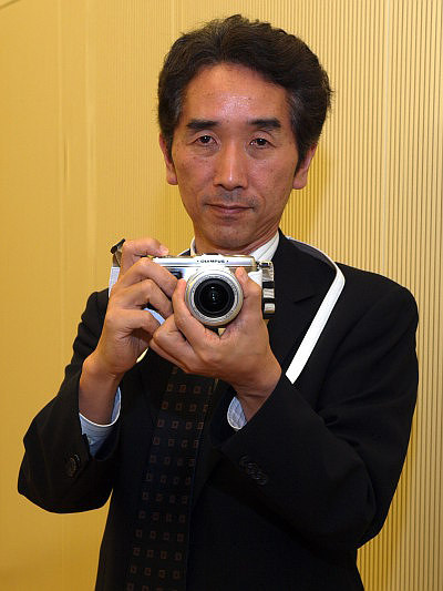 Interview with Akira Watanabe Manager - the main Olympus E-P1 designer - Interview with Akira Watanabe Manager, Digital SLR Product Strategy Department, Olympus Imaging Corporation