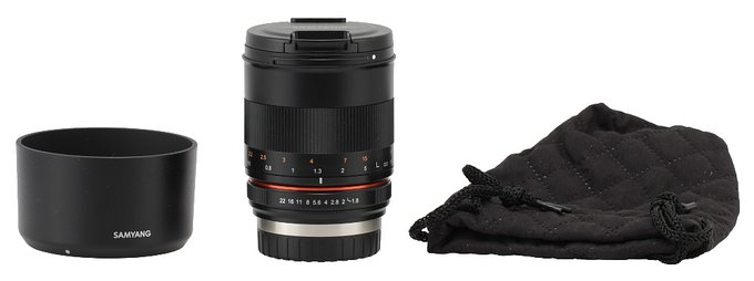 Samyang 85 mm f/1.8 ED UMC CS - Build quality