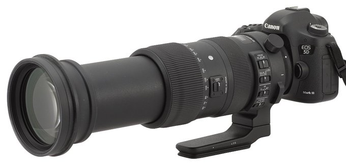 Sigma S 60-600 mm f/4.5-6.3 DG OS HSM - Introduction