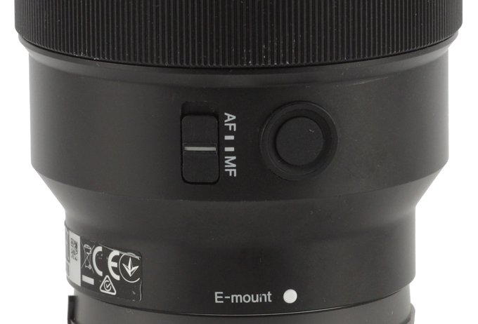 Sony FE 85 mm f/1.8 - Build quality