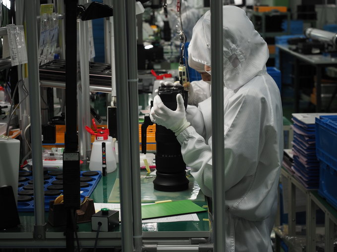 A trip to Sigma lens factory in Aizu - Assembly and quality control