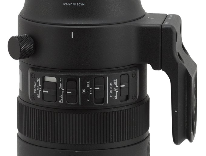 Sigma S 70-200 mm f/2.8 DG OS HSM - Build quality and image stabilization