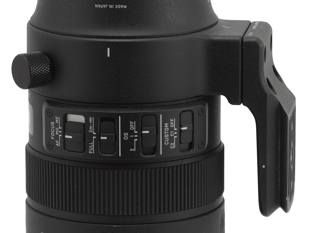 Sigma S 70-200 mm f/2 8 DG OS HSM review - Build quality and