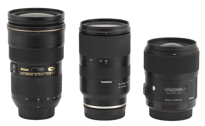 Tamron 28-75 mm f/2.8 Di III RXD - Build quality