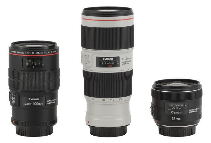 Canon EF 70-200 mm f/4L IS II USM - Build quality and image stabilization