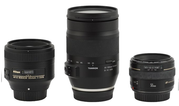Tamron 35-150 mm f/2.8-4 Di VC OSD - Build quality and image stabilization