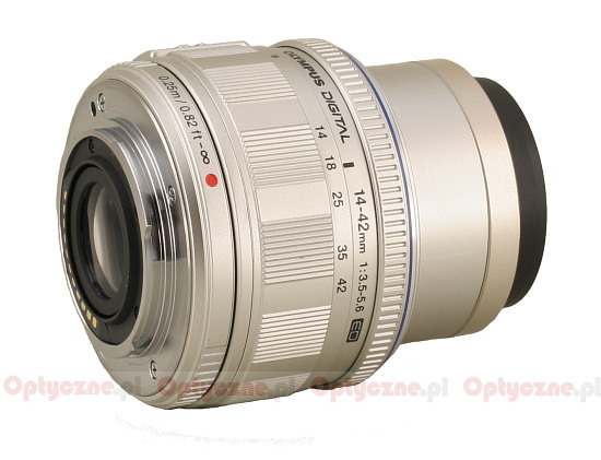 Olympus M.Zuiko Digital 14-42 mm f/3.5-5.6 ED - Build quality