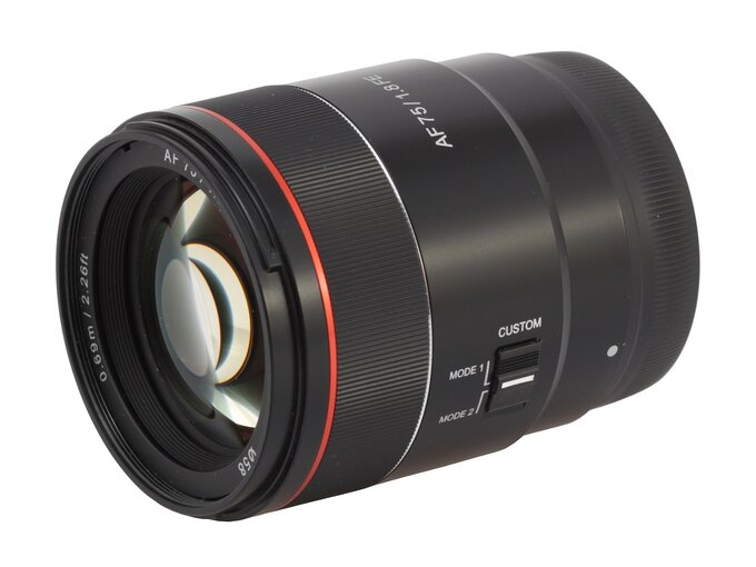 Samyang AF 75 mm f/1.8 FE - Build quality