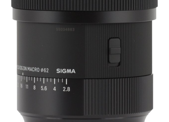 Sigma A 105 mm f/2.8 DG DN Macro – first impressions - Build quality