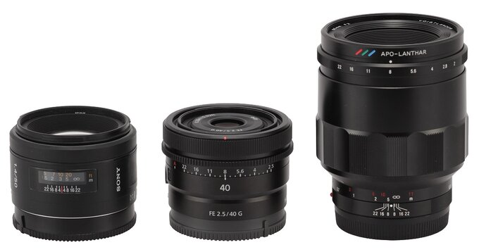 Sony FE 40 mm f/2.5 G - Build quality