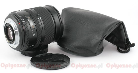 Leica D Vario-Elmarit 14-50 mm f/2.8-3.5 Asph. Mega O.I.S. - Build quality and image stabilization