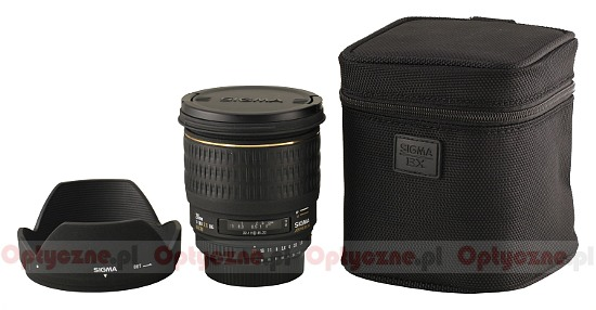 Sigma 28 mm f/1.8 EX DG Aspherical Macro - Build quality