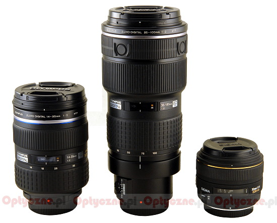 Olympus Zuiko Digital 35-100 mm f/2.0 - Build quality