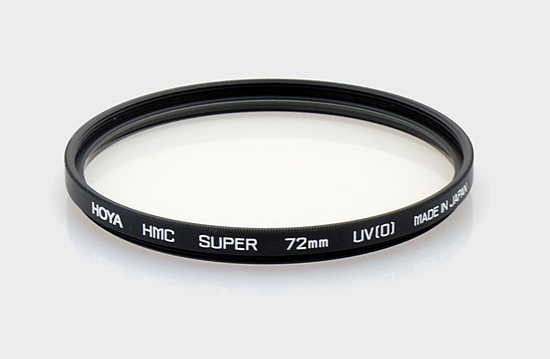 UV filters test - Hoya 72 mm HMC Super UV-0
