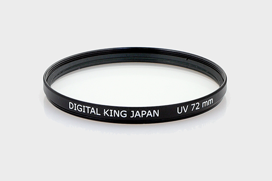 UV filters test - King 72 mm UV