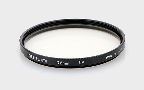 UV filters test - Marumi 72 mm UV
