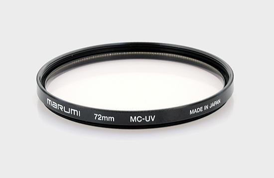 UV filters test - Marumi 72 mm MC UV - LensTip com