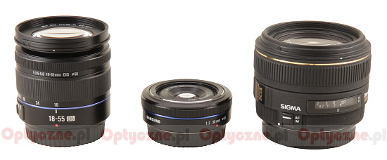 Samsung NX 30 mm f/2.0 - Build quality
