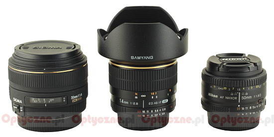 Samyang 14 mm f/2.8 ED AS IF UMC - Build quality
